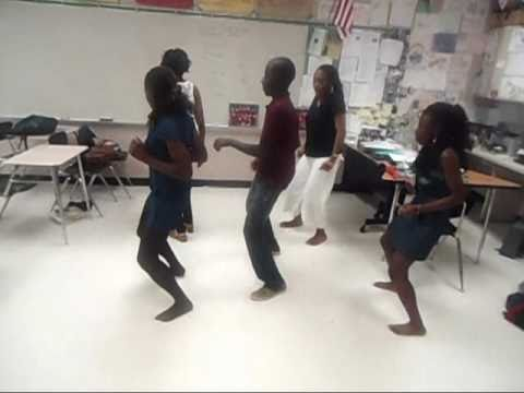 African club dance Practice!!
