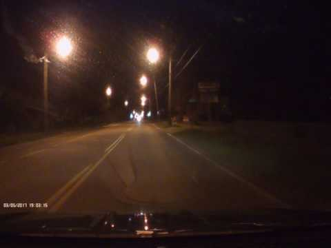 UNIDEN DCAM DASH CAM NIGHT TIME
