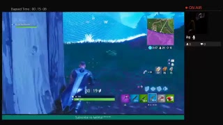 Playing Fortnite new skins and new gun really good at the game