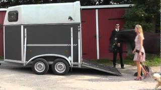 Pferde verladen? Schnell in 6 Sekunden. (Pferd Verladen einfacher lustig) - horses loading problems