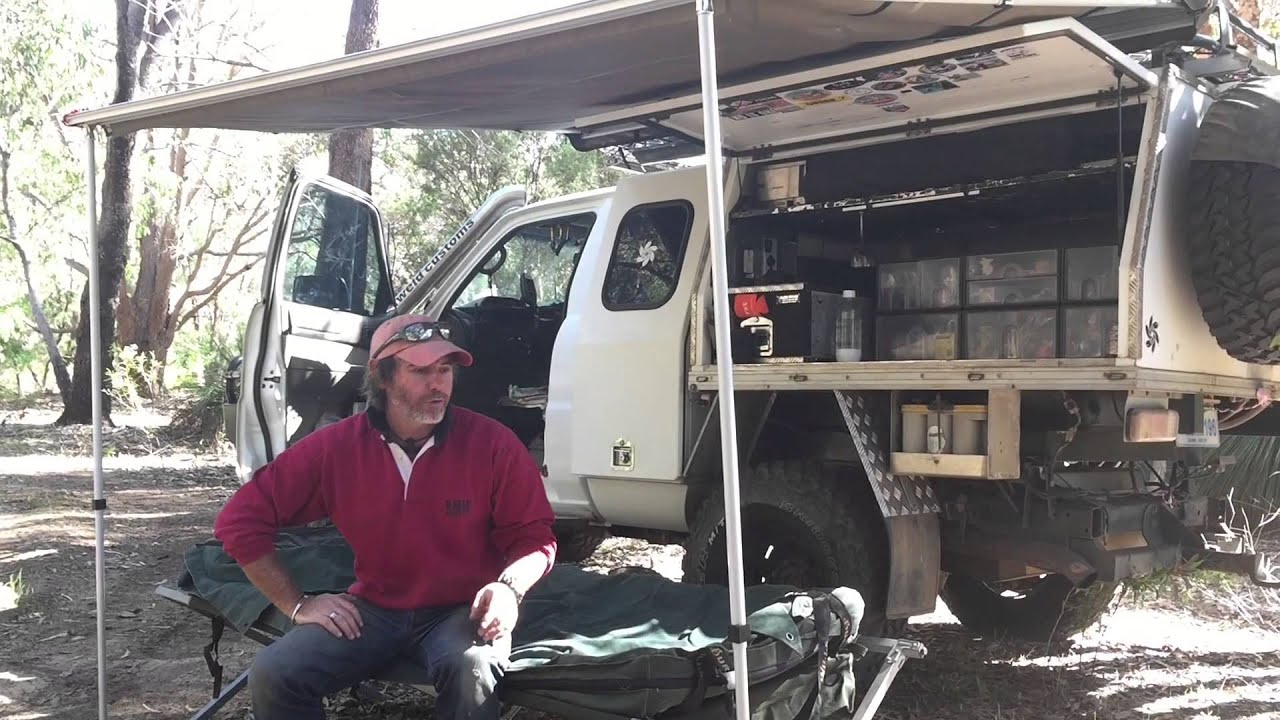 Short Term Camping Set Up With Graham Cahill From 4wd