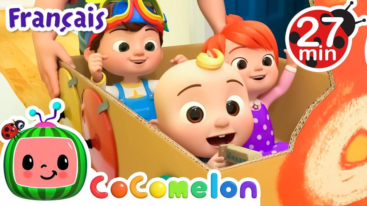 Download Dans le train | CoComelon en Français | Chansons pour bébés