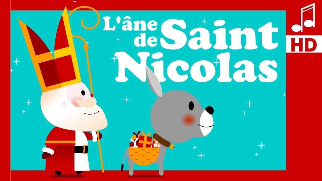 La Comptine De Saint Nicolas Comptine Pour Bebe Maternelle Youtube