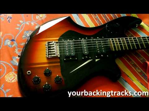 Minor Smooth Jazz Backing Track in Bm / Free Guitar Jam Tracks TCDG