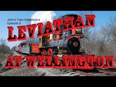John's Train Adventur's Episode 9: Leviathan at Wellington Ohio