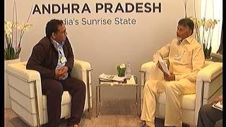 AP CM Chandrababu 3rd Day Davos Tour Highlights