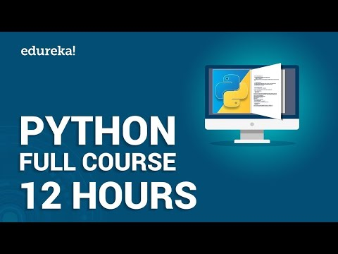 Python Full Course - Learn Python in 12 Hours | Python Tutorial For Beginners