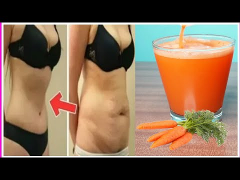 Home made  weight loss juice /How to Lose Weight Fast With Carrot! No Strict Diet No Workout!