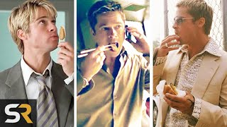 Ever Notice That Brad Pitt Is Always Eating In His Movies?