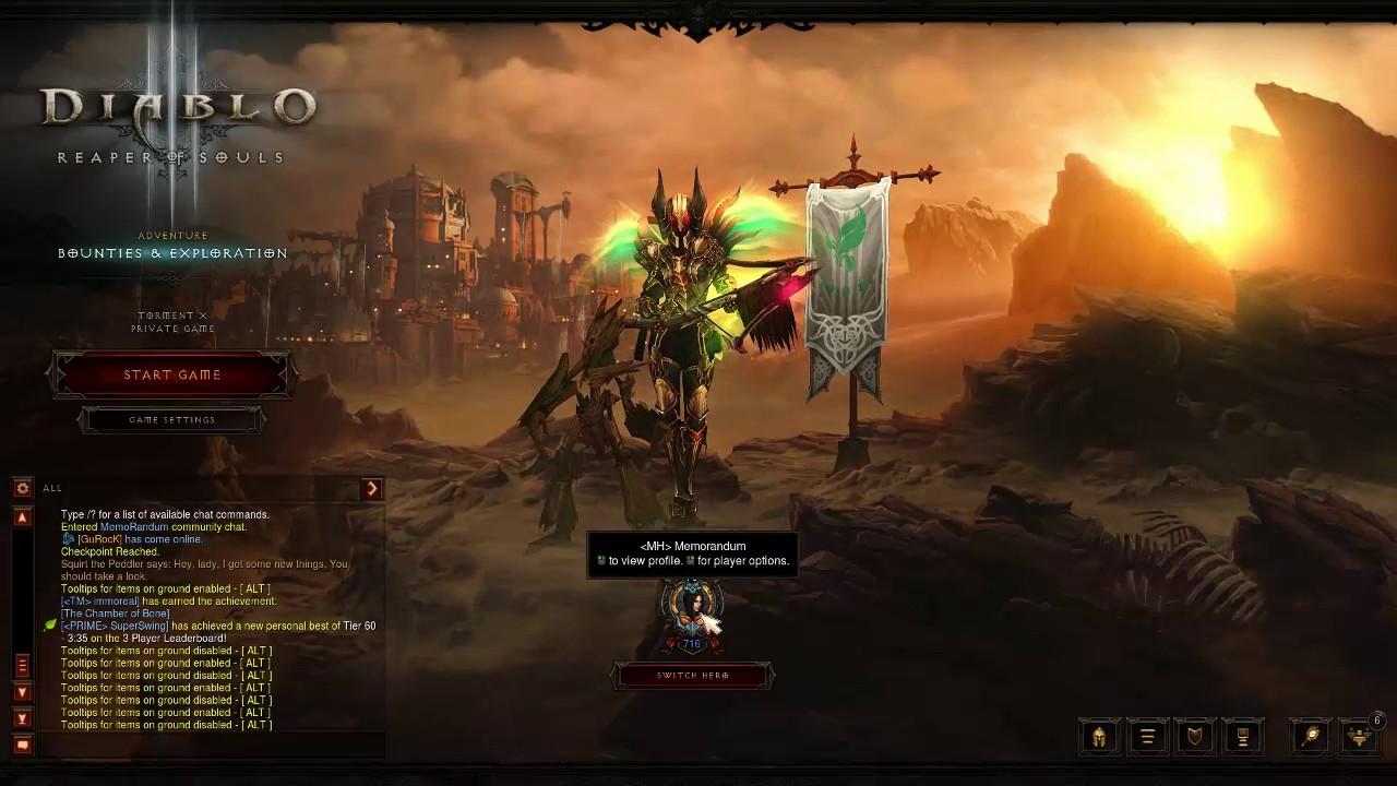 Diablo Iii Reaper Of Souls Guide รวม Tips 1 Youtube