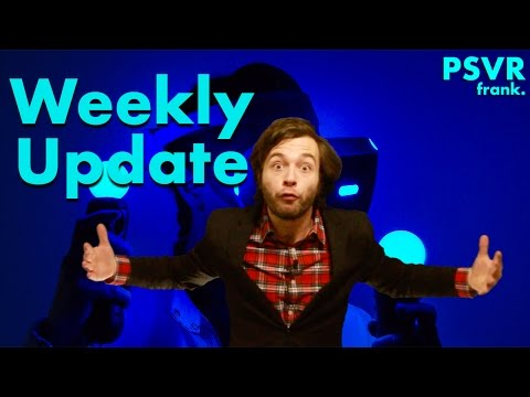 PSVR Weekly Update + New PlayStation VR Games + VR News
