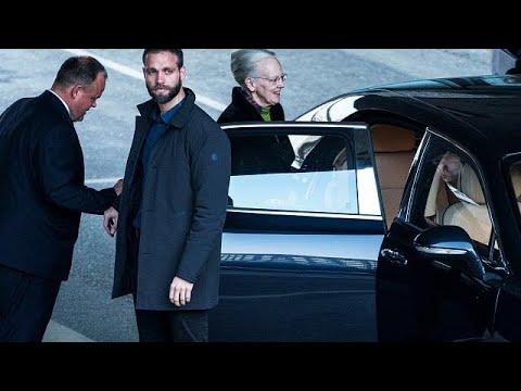 Le prince Henrik du Danemark , mari de la reine Margrethe est mort