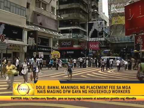 Dole Names Elite Agencies For Hong Kong Ofws