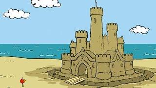 Peep en Español: El castillo de arena y la rana