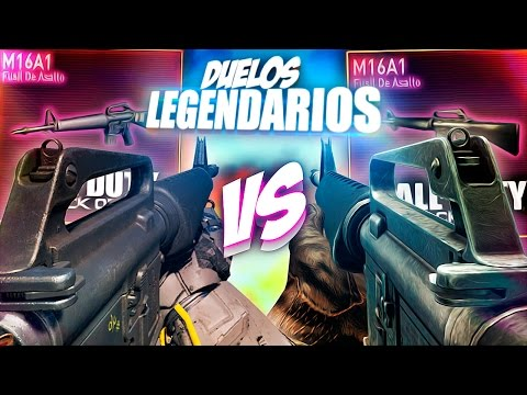 M16 (BO3) VS M16 (BO) | DUELOS LEGENDARIOS EN CALL OF DUTY