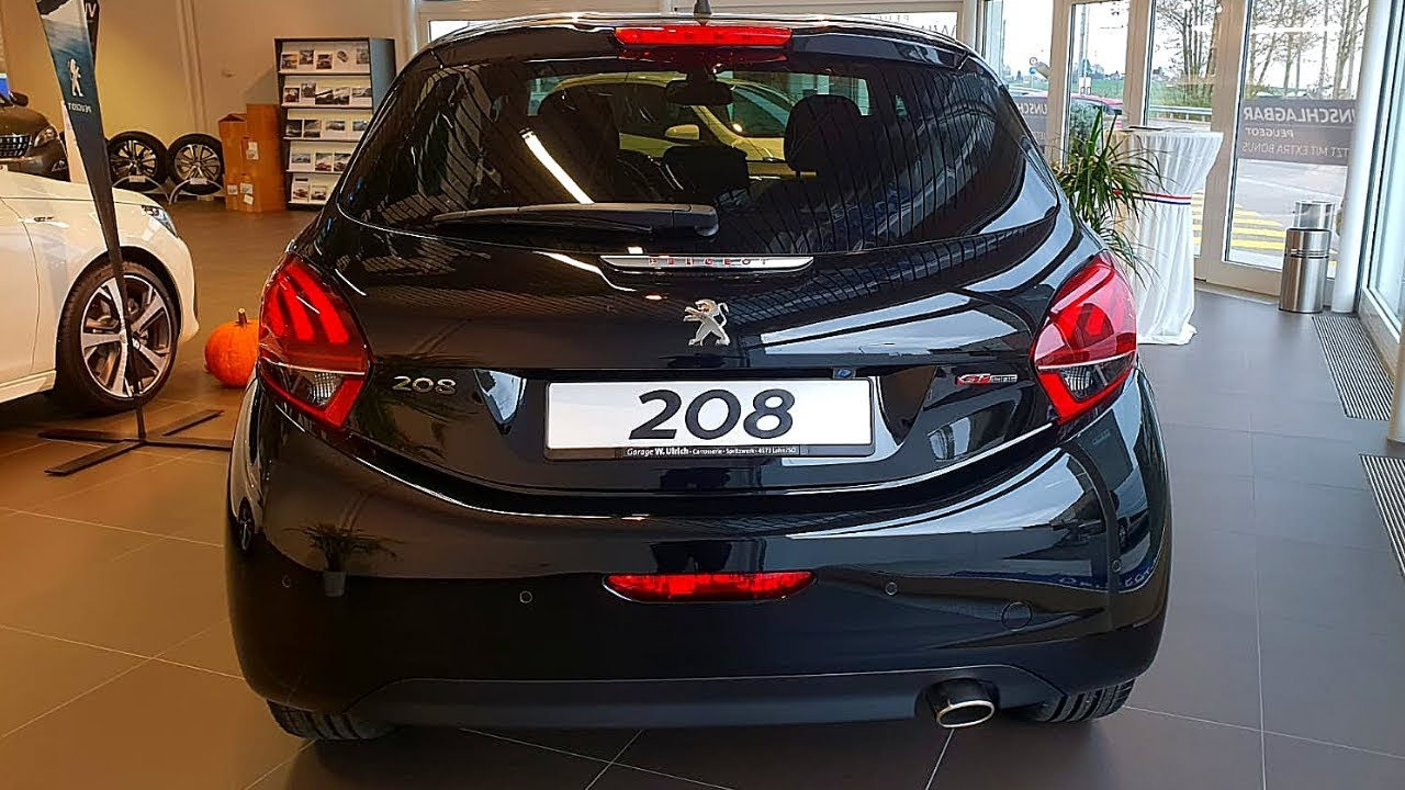 new peugeot 208 gt line 2019 interior exterior review youtube. Black Bedroom Furniture Sets. Home Design Ideas
