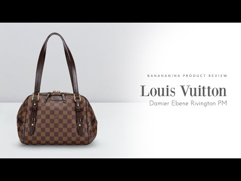 Banananina Product Review: Louis Vuitton Damier Ebener Rivington PM