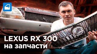 LEXUS RX 300 (1998-2003): ЗАПЧАСТИ и РЕМОНТ. Отзыв владельца. Запчасти-шоу