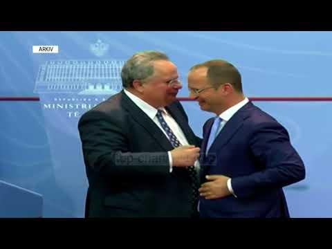 """Bushati-Kotzias """"burgosen"""" në Kretë - Top Channel Albania - News - Lajme"""