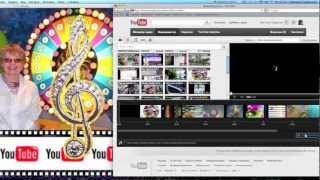 Как наложить музыку на видео для youtube(Как наложить музыку на видео youtube без специальных программ и скачиваний? http://pro-youtub.com/ Как добавить музыку..., 2012-11-07T09:38:56.000Z)