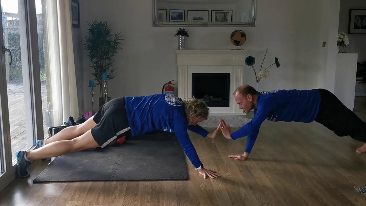 Träna tillsammans med parövningar - träningsfilm