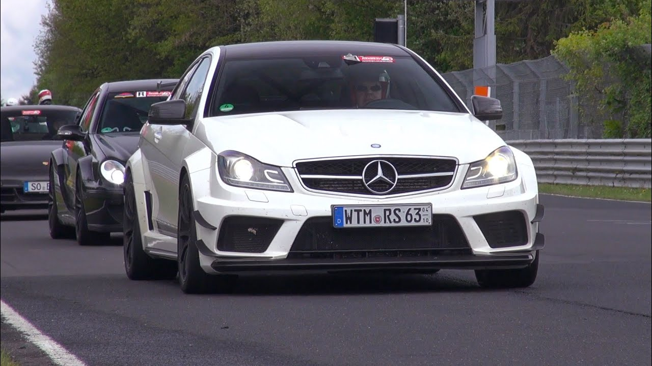 mercedes benz c63 amg black series coupe lovely sounds youtube