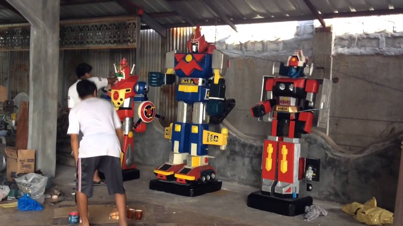 Big Version Mekanda Robo Voltes V And Daimos Youtube