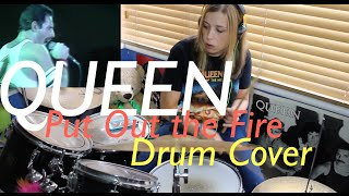 Queen|| Put Out The Fire Drum Cover