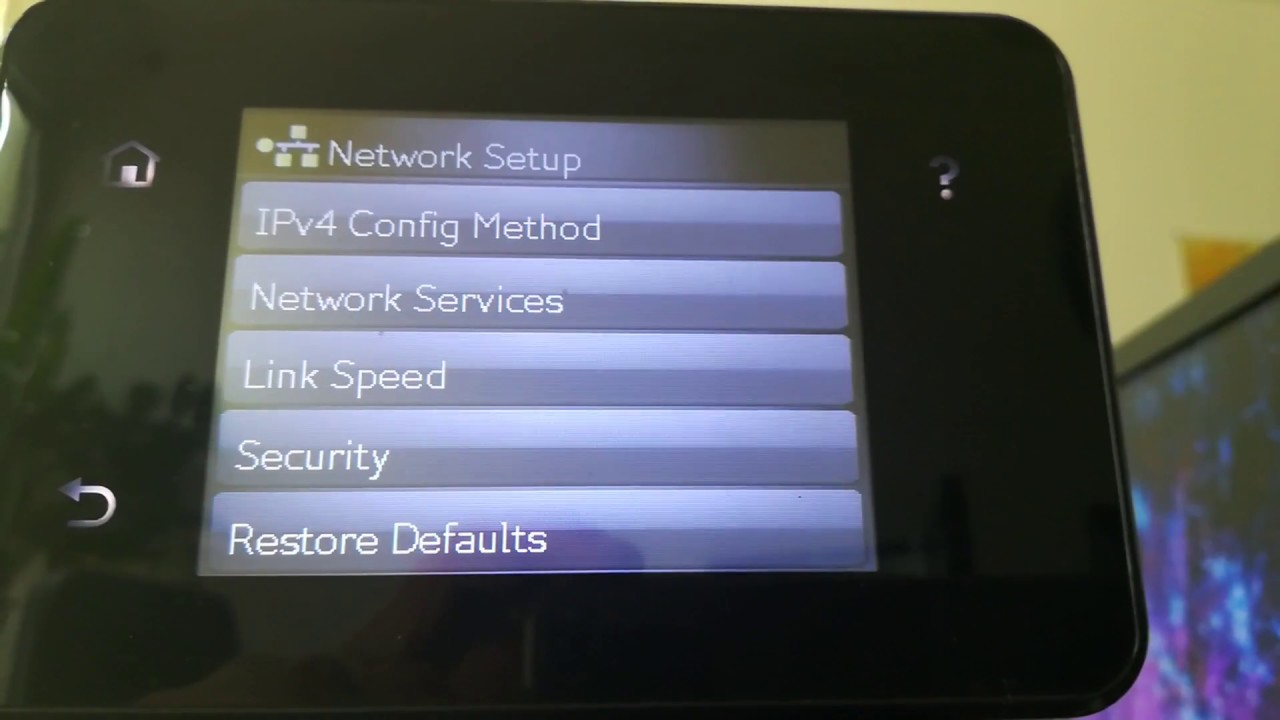 How To Set A Static Ip Address On Hp Laserjet 400 M401dn