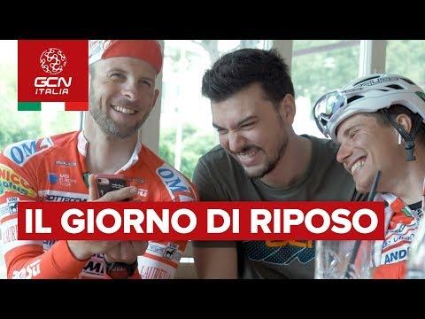 Il giorno di riposo - Androni Sidermec Vs GCN Italia | Giro d'Italia 2019