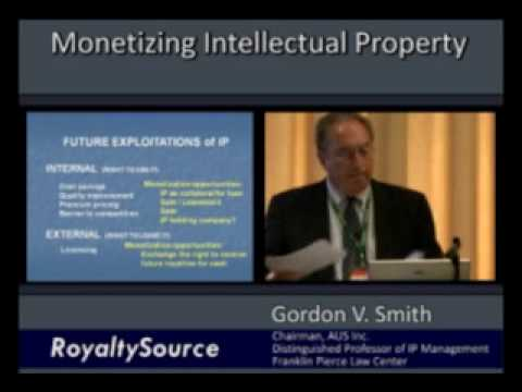 Monetizing Intellectual Property, IP  An Increasingly Important Asset Class