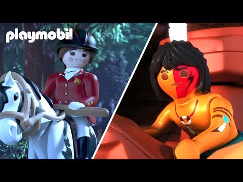 PLAYMOBIL | Fun In The Farm And A Western | Cartoons For Children | Compilation
