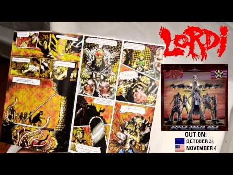 LORDI - Scare Force One / Box Set - The Comic / AFM Records