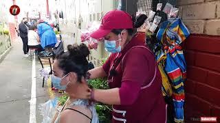 MARTHA ♥ PANGOL & LILIANA , OLD SCHOOL SPIRITUAL CLEANSING, MARKET LIMPIA (Feria Libre Cuenca), ASMR