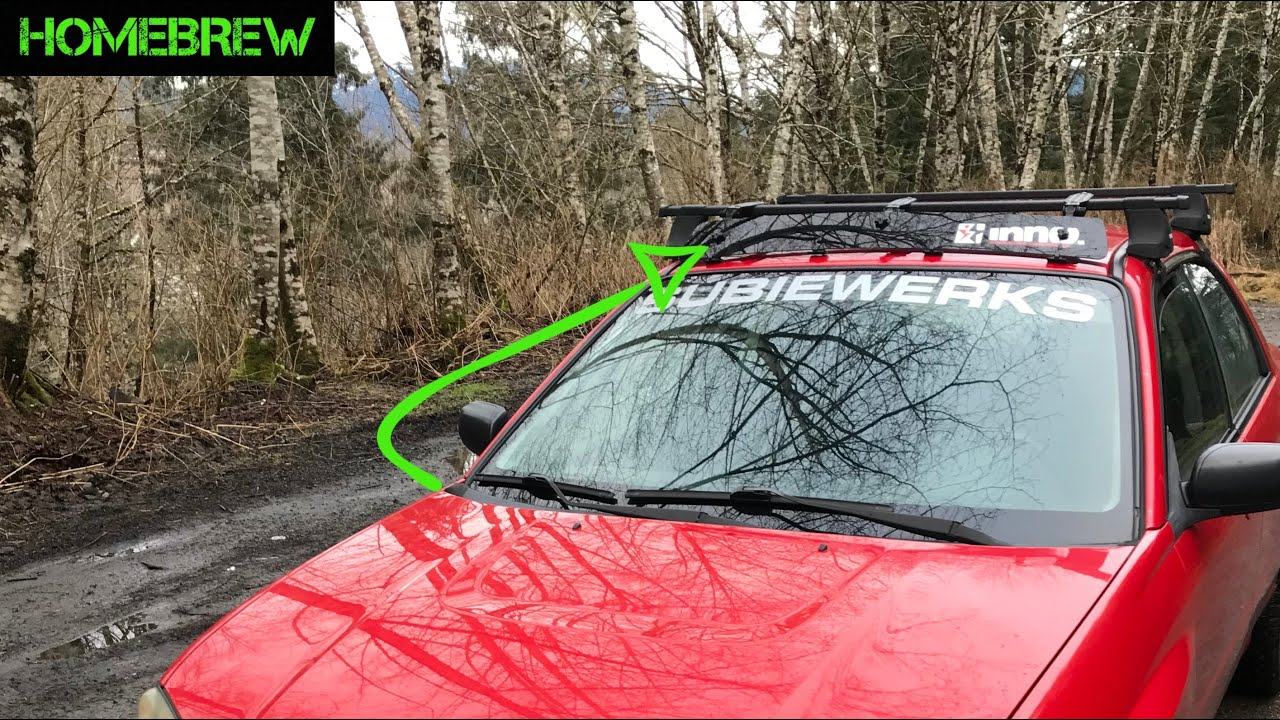 Impreza Rs Inno Wind Fairing Install How To Youtube