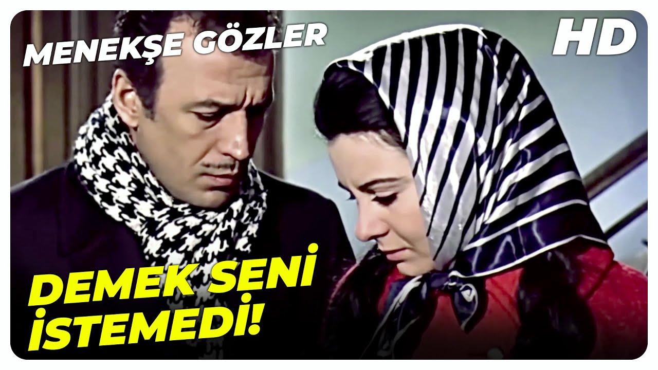 Menekşe Gözler - Sen Yürek Çarpıntısı Nedir Bilir Misin? | Sadri Alışık Fatma Girik Eski Türk Filmi