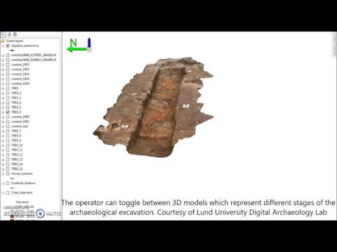 Exploring the use of 3D GIS as an analytical tool in archaeological excavation practice