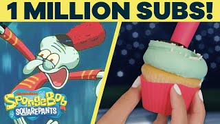 Sweet Victory IRL! 🎉 1 Million Subscribers Celebration! | SpongeBob SquarePants