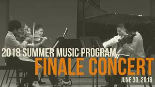 Summer Music Program 2018: Finale Concert (1 of 2)