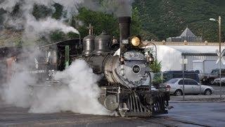 Denver and Rio Grande Steam Train 315 - Durango and Silverton