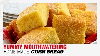 How To Make Yummy Corn Bread Sweet At Home Quick & Easy | Corn Bread Pancakes Indian Sweet Recipe