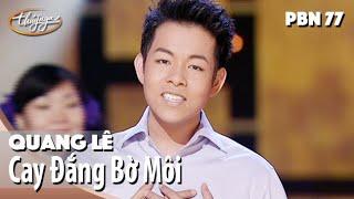 TÌNH KHÚC VÀNG | Cay Đắng Bờ Môi - Quang Lê | Thuý Nga PN 77