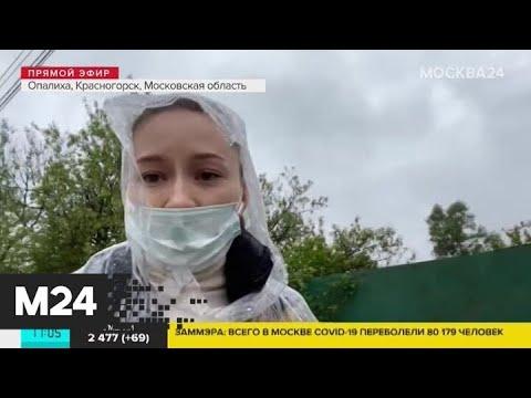 В Подмосковье дождями затопило участки и дачные дома - Москва 24