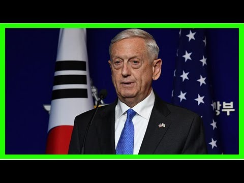 Mattis warns Syria on chemical weapons, doubts Russian missile claims
