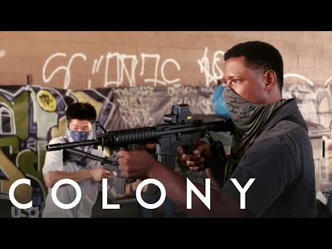 Colony on USA Network  Tory Kittles – Behind the s