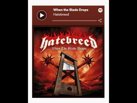 "Hatebreed release new single ""When The Blade Drops"" + Euro tour dates!"