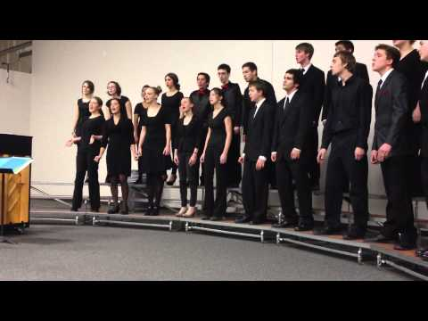 De King is Born Today - Morgan Ames & Donna McAfee by Renaissance High School Chamber Choir