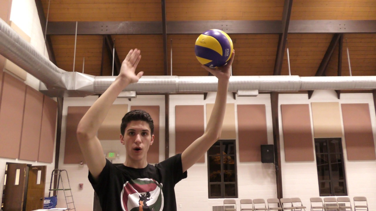 How To Jump Float Serve In Volleyball Tutorial Youtube
