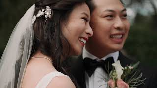 Stephanie & Quang  Highlights at The Spring venue in Cypress