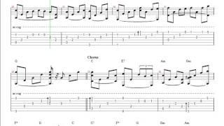 Con Đường Hạnh Phúc - TAB Guitar Athysirus